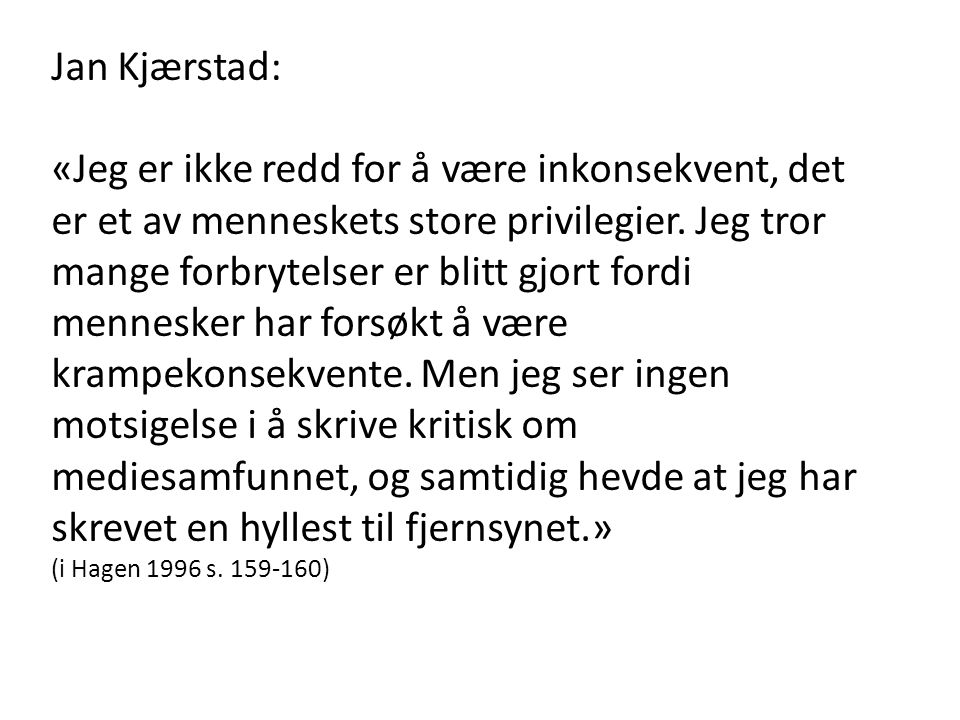 Jan Kjærstad: