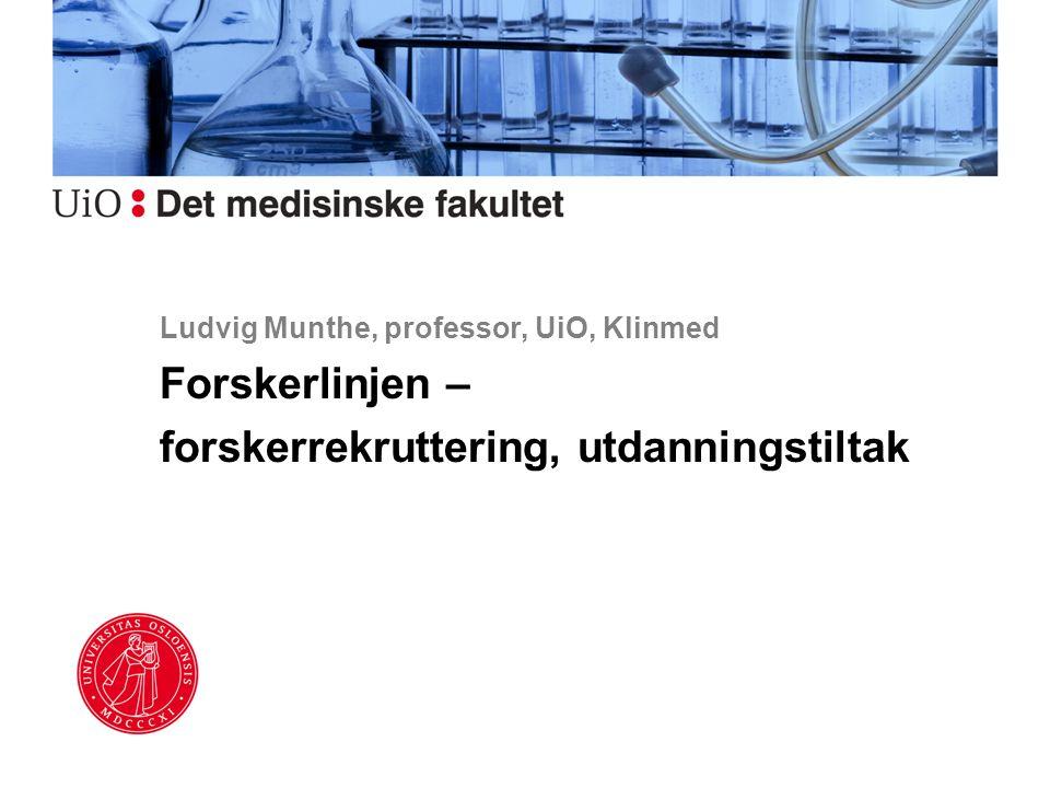 Ludvig Munthe, professor, UiO, Klinmed