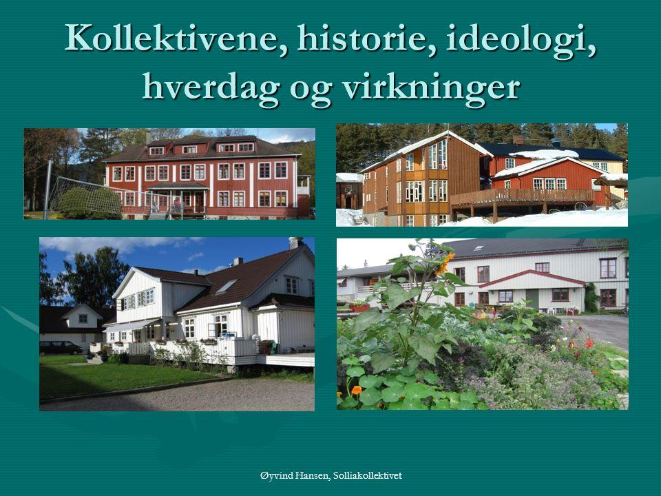 Kollektivene, historie, ideologi, hverdag og virkninger
