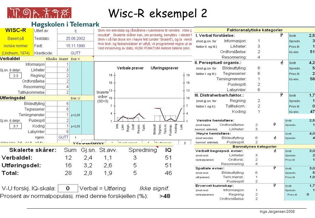 Wisc-R eksempel 2