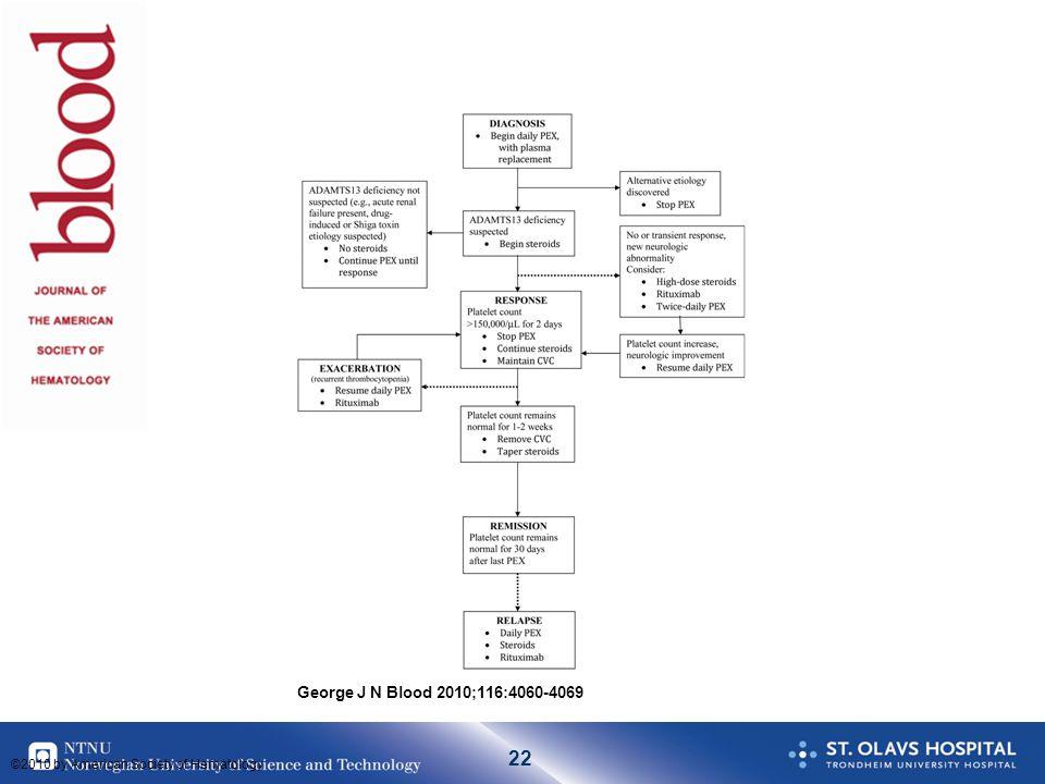 Her er et forslag til behandlingsalgoritme utarbeidet av gruppen ved Oklahomaregisteret.