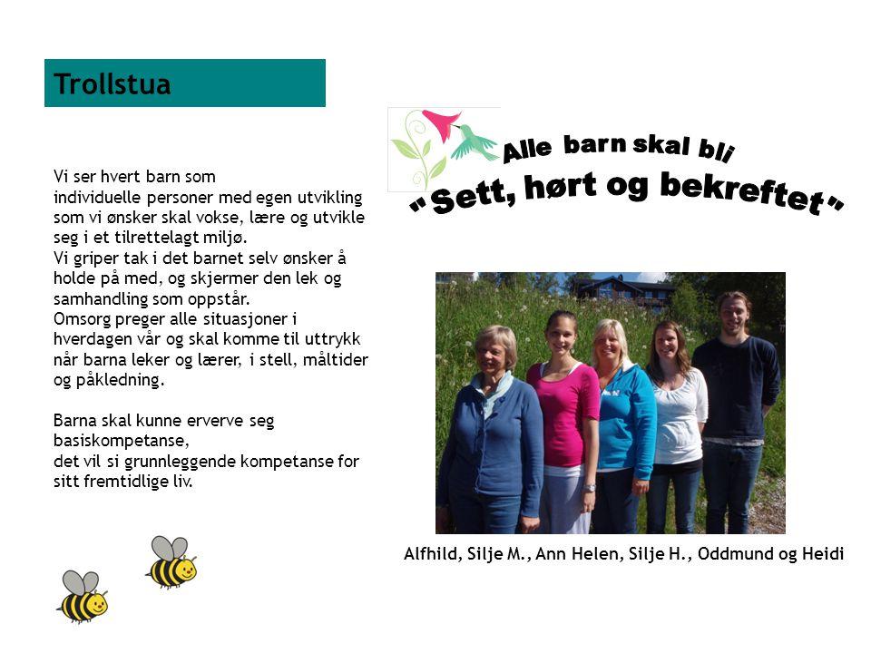 Alfhild, Silje M., Ann Helen, Silje H., Oddmund og Heidi