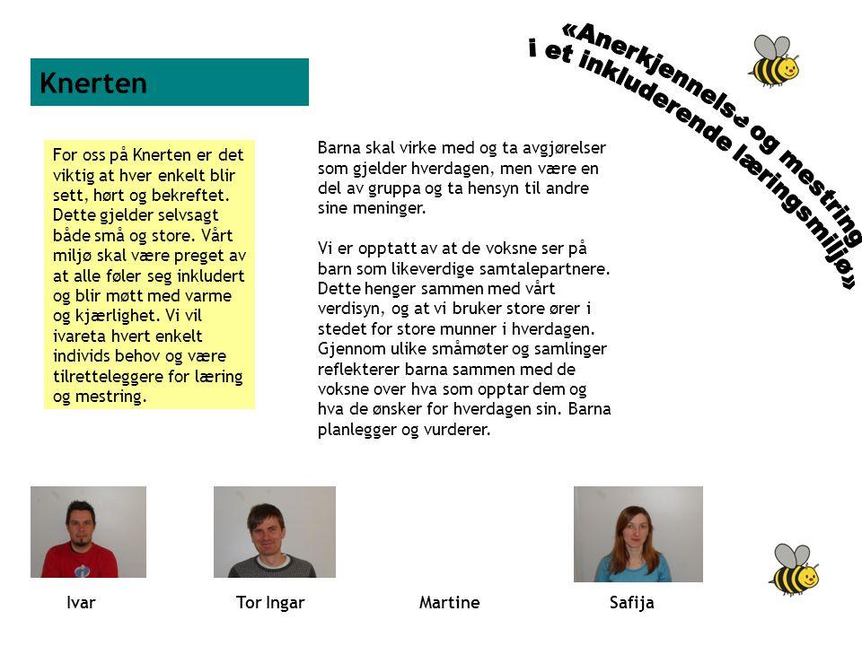 Knerten «Anerkjennelse og mestring i et inkluderende læringsmiljø»