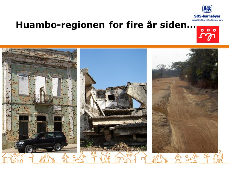 Huambo-regionen for fire år siden...
