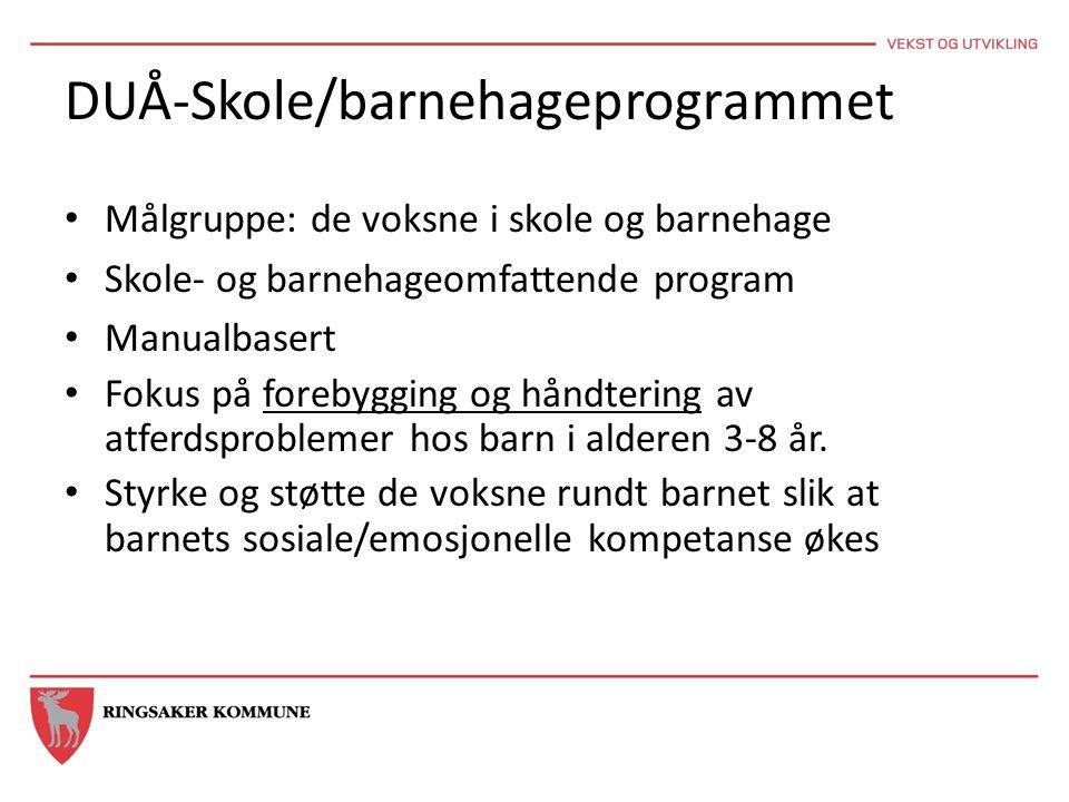 DUÅ-Skole/barnehageprogrammet