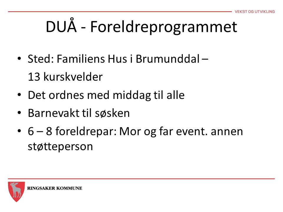 DUÅ - Foreldreprogrammet