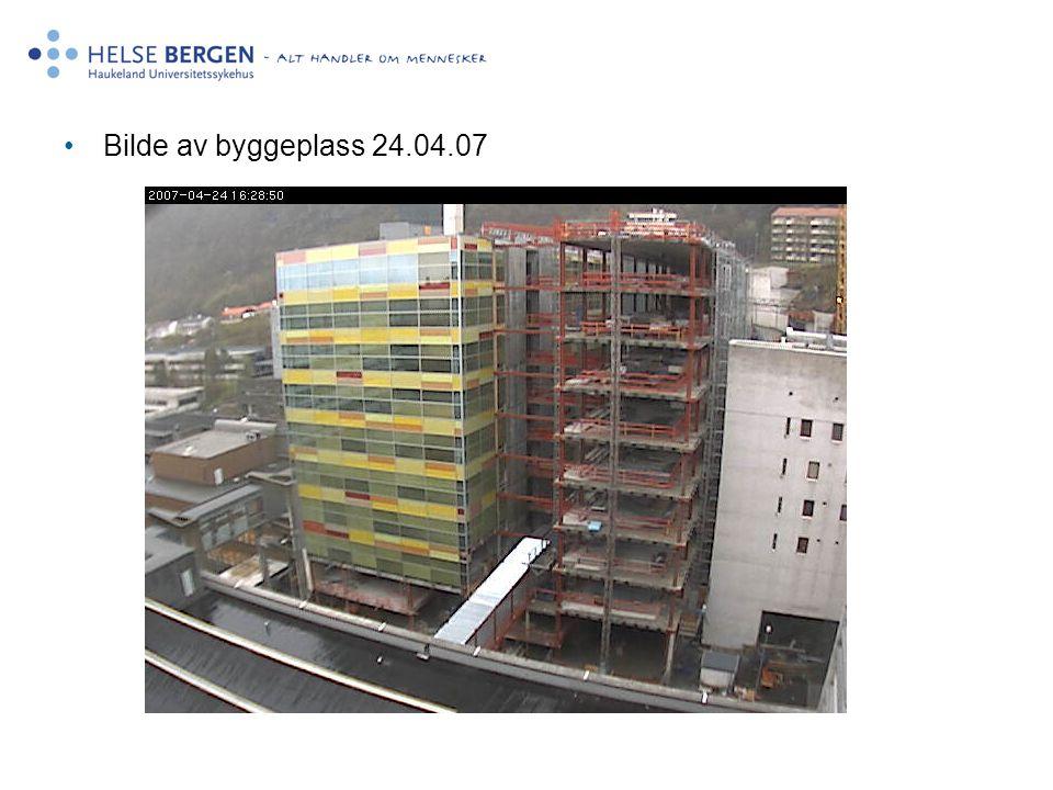 Bilde av byggeplass 24.04.07