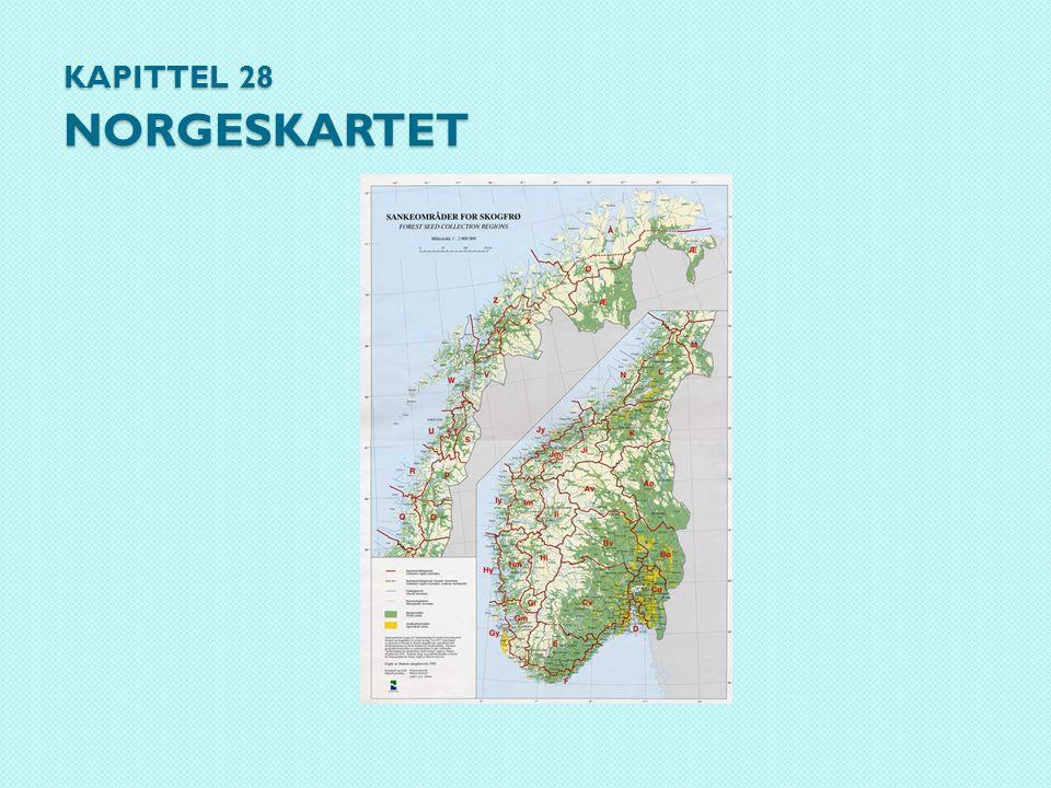 Kapittel 28 Norgeskartet