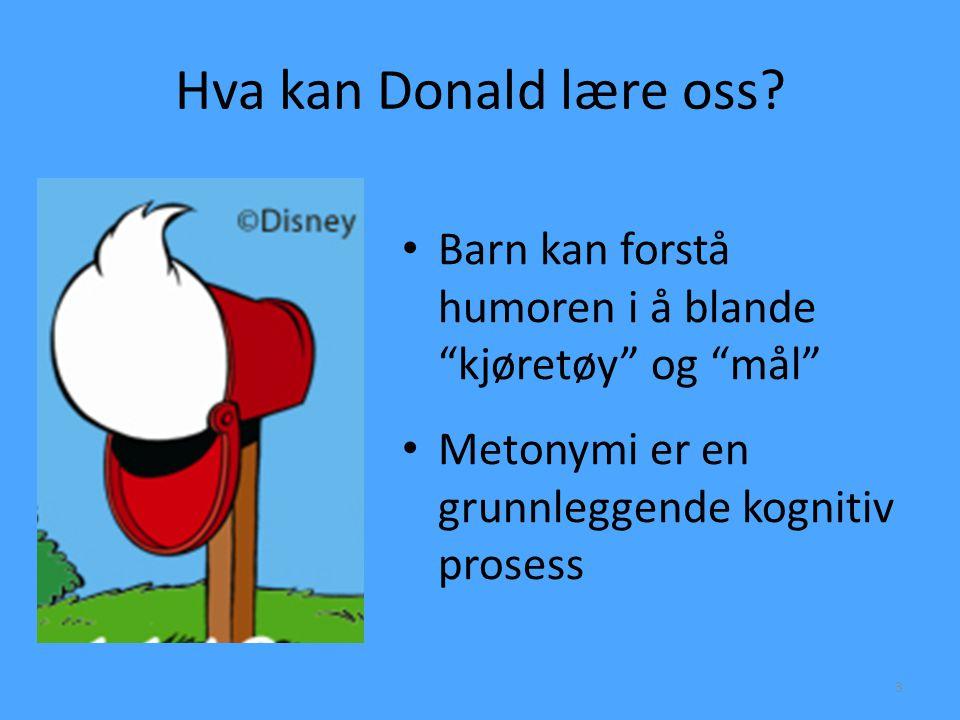 Hva kan Donald lære oss.