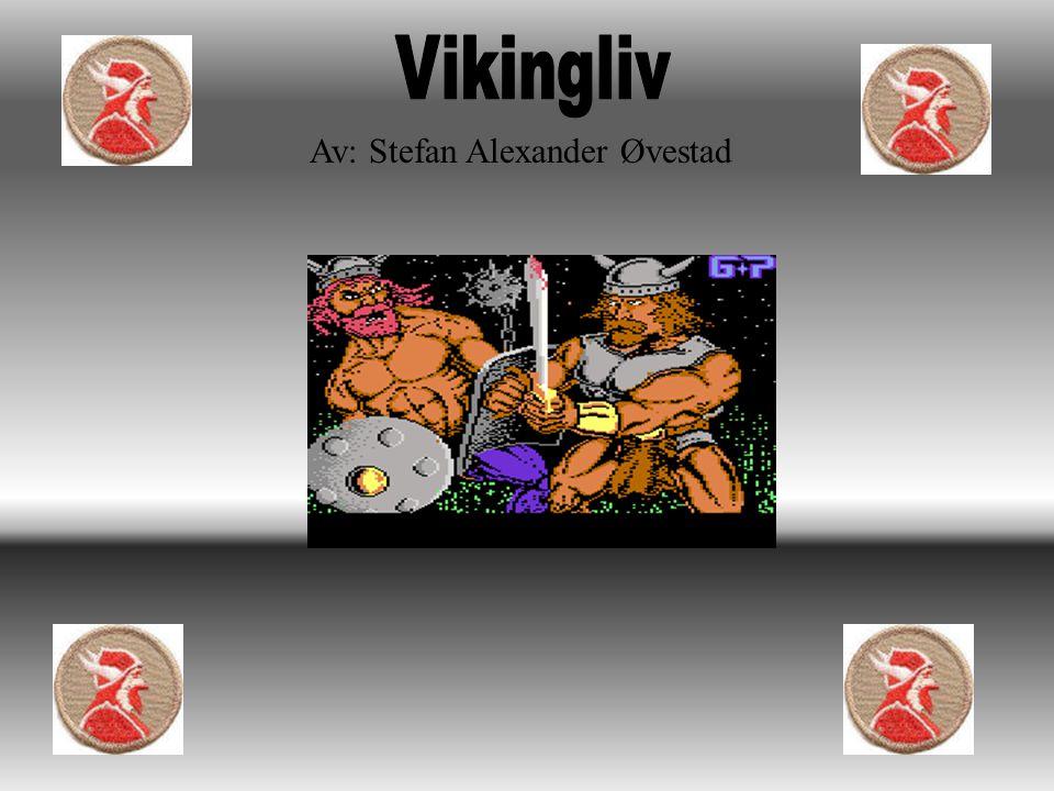 Vikingliv Av: Stefan Alexander Øvestad