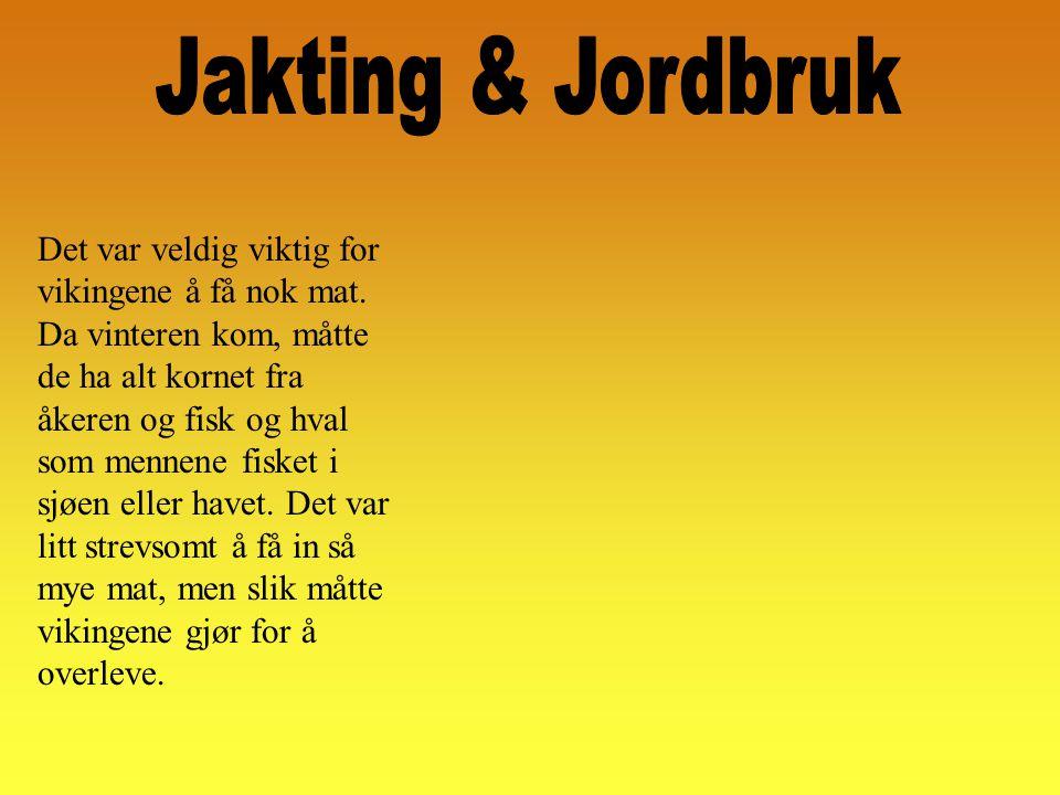 Jakting & Jordbruk