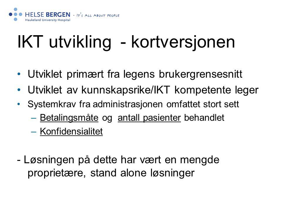 IKT utvikling - kortversjonen