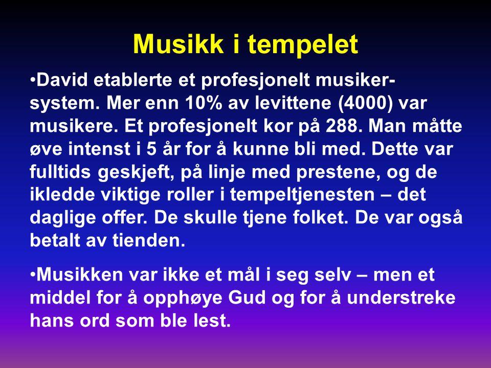 Musikk i tempelet