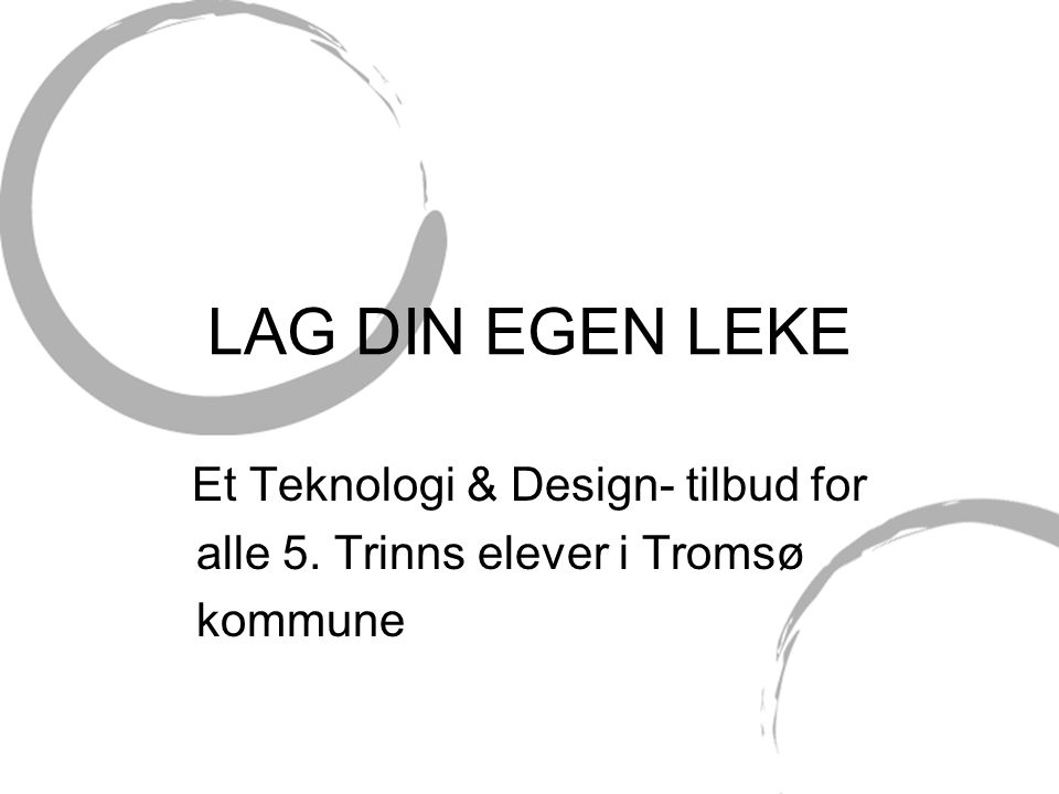 Et Teknologi & Design- tilbud for