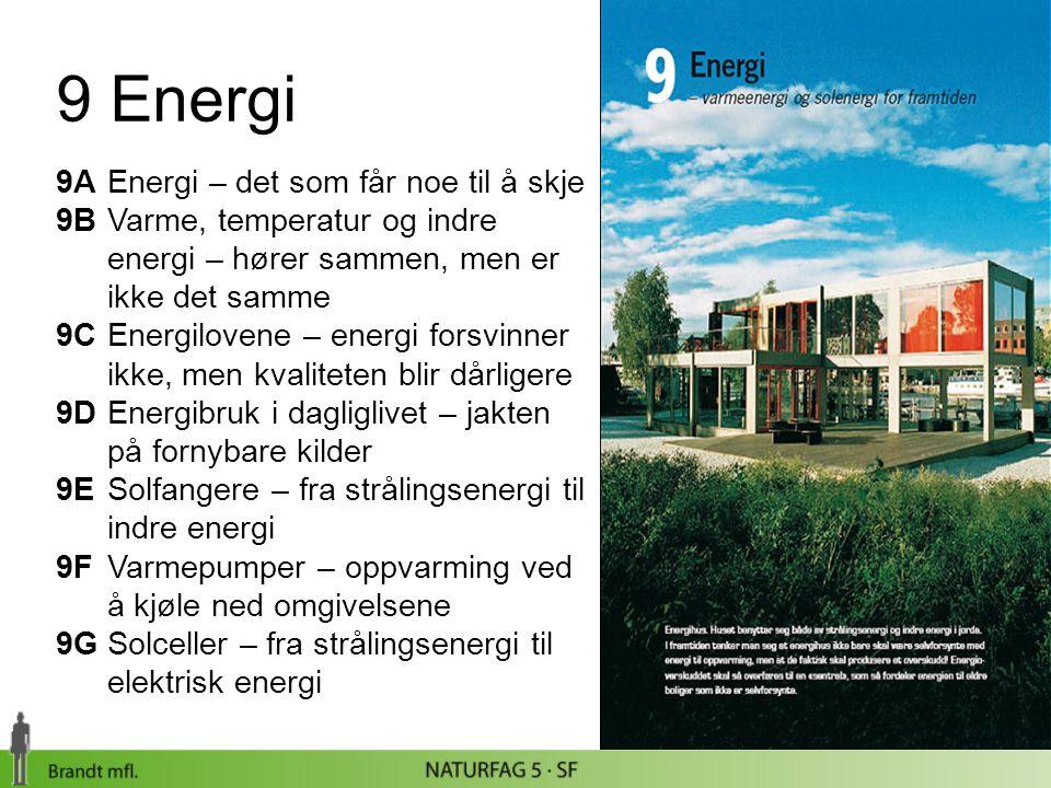 9 Energi 9A Energi – det som får noe til å skje