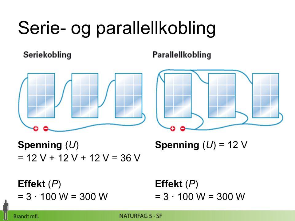 Serie- og parallellkobling