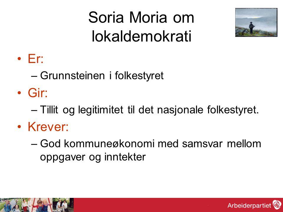 Soria Moria om lokaldemokrati