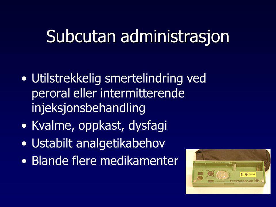 Subcutan administrasjon