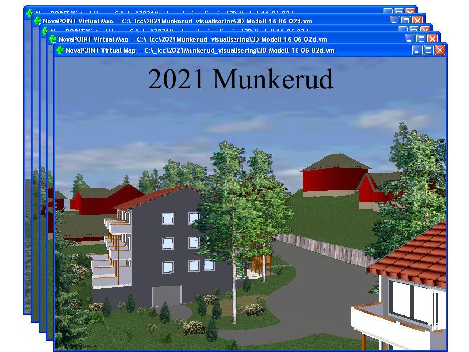Hus 6 Hus 7. Hus 8. 2021 Munkerud. Her ser dere en enkel model i som vi laget for å visualisere Munkerud prosjektet på Søndre Nordstrand.