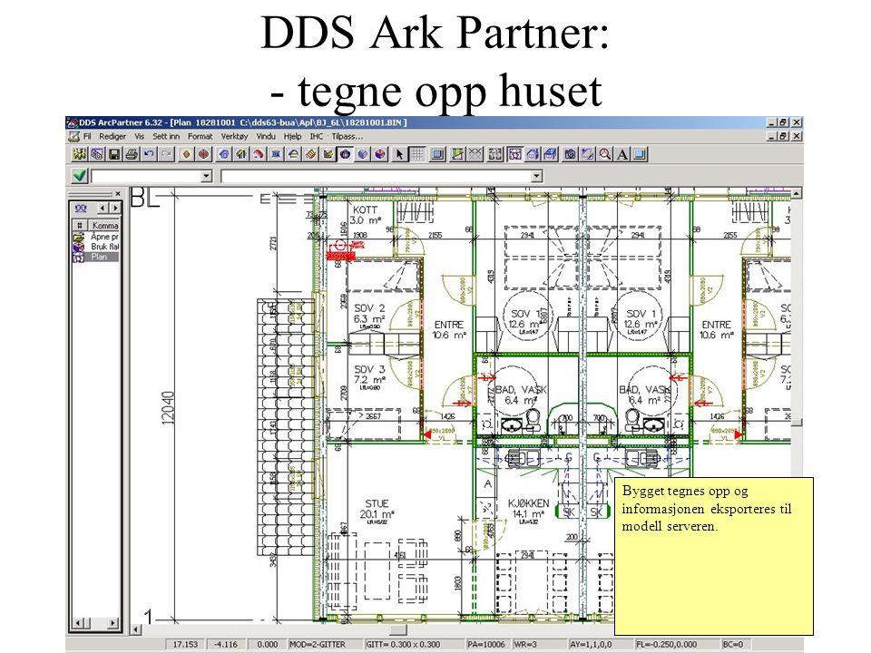 DDS Ark Partner: - tegne opp huset