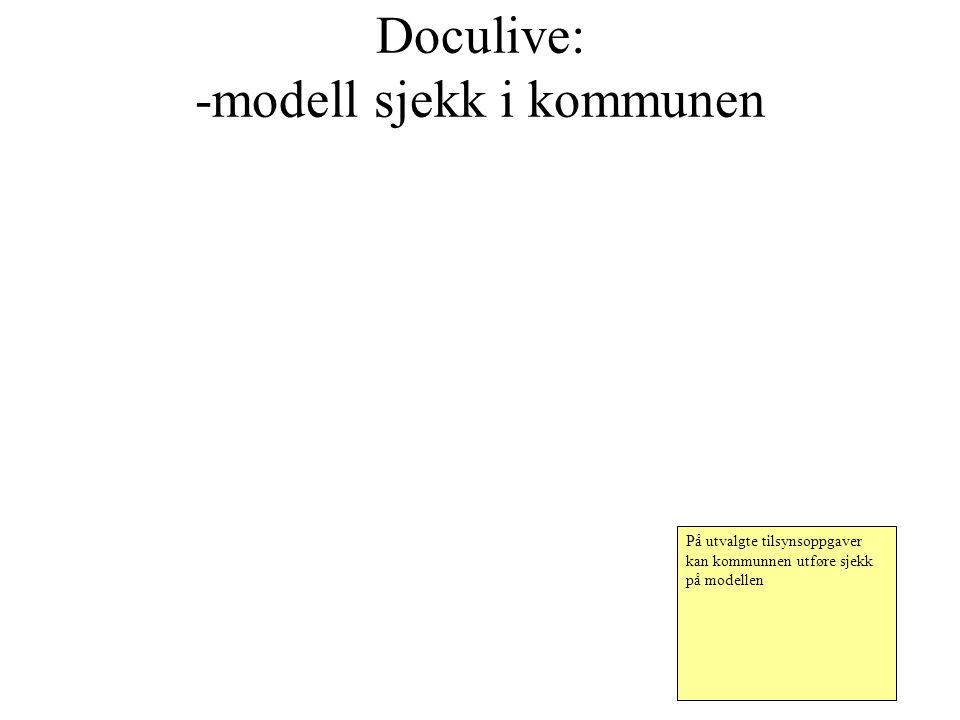 Doculive: -modell sjekk i kommunen