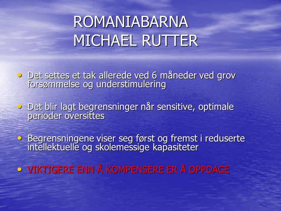 ROMANIABARNA MICHAEL RUTTER