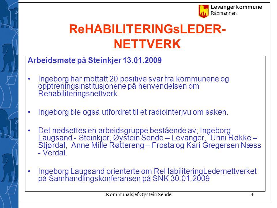 ReHABILITERINGsLEDER- NETTVERK