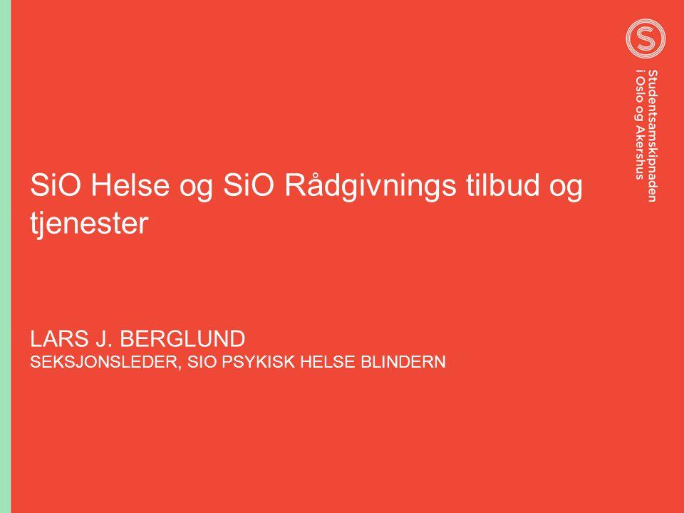SiO Helse og SiO Rådgivnings tilbud og tjenester