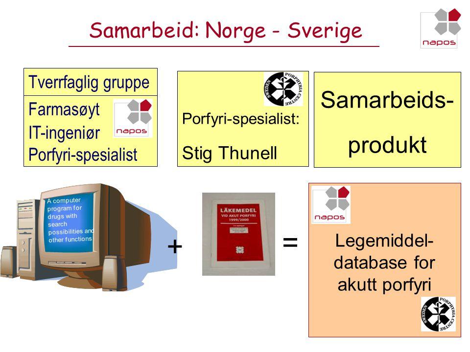 Samarbeid: Norge - Sverige