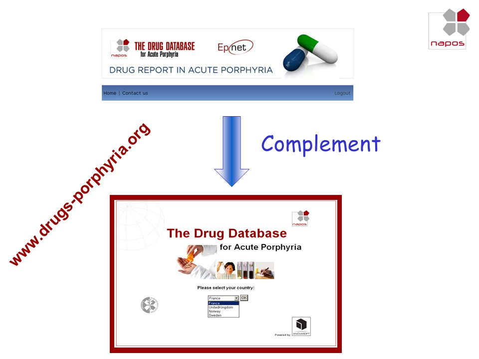 Complement www.drugs-porphyria.org