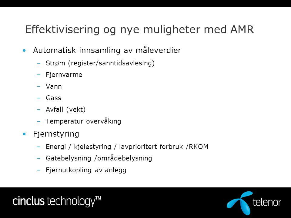 Effektivisering og nye muligheter med AMR