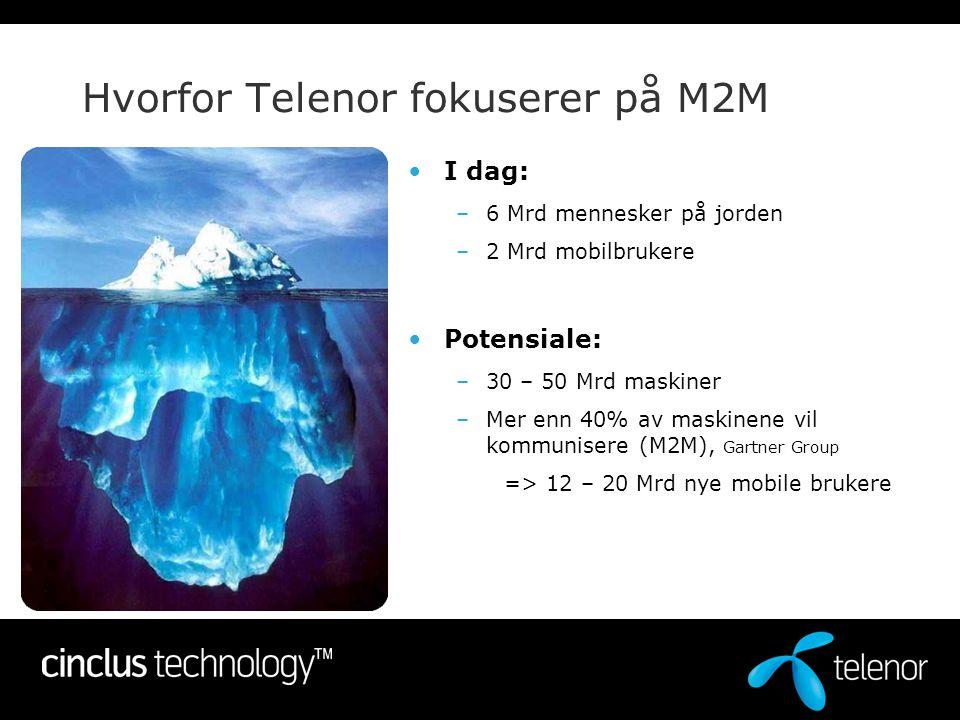 Hvorfor Telenor fokuserer på M2M