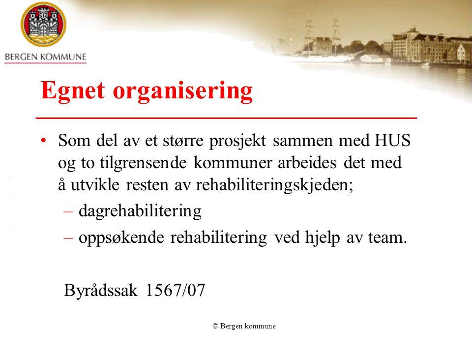 Egnet organisering