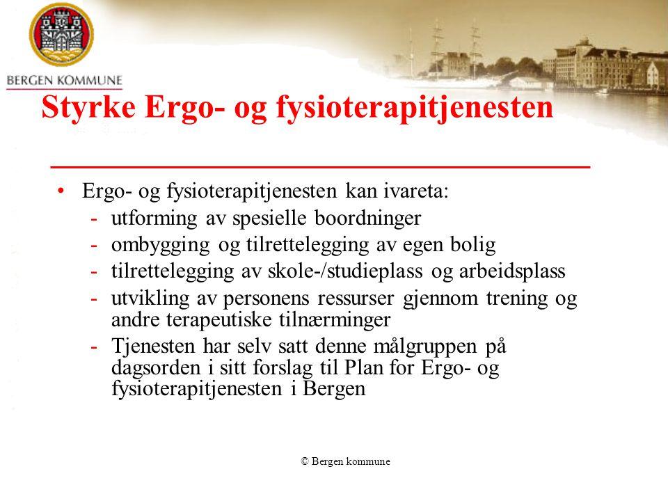 Styrke Ergo- og fysioterapitjenesten