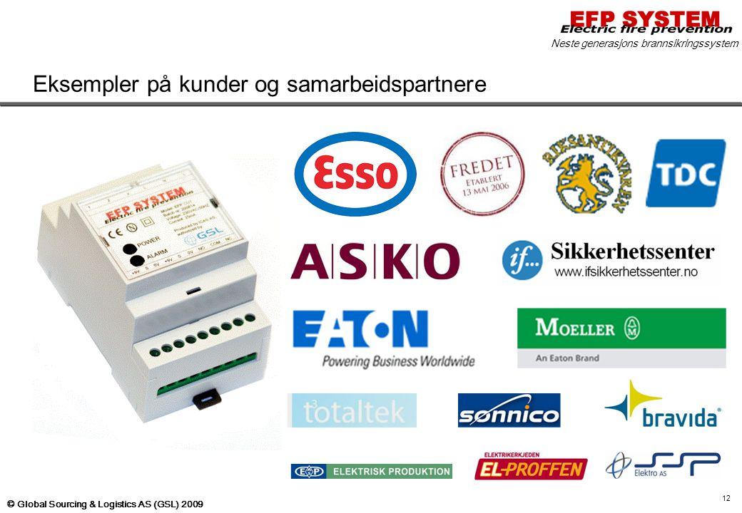 Eksempler på kunder og samarbeidspartnere