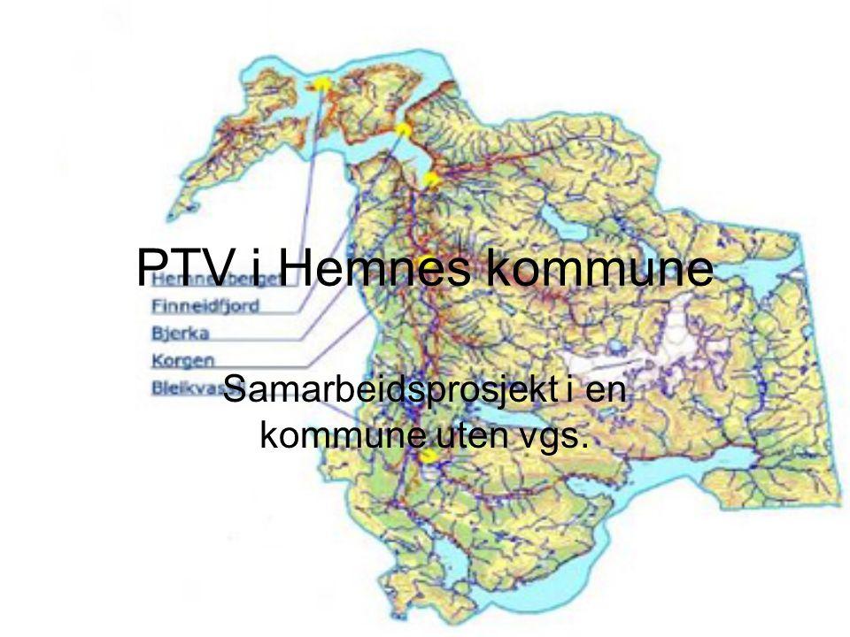Samarbeidsprosjekt i en kommune uten vgs.