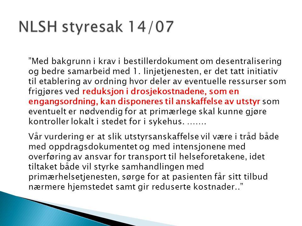 NLSH styresak 14/07