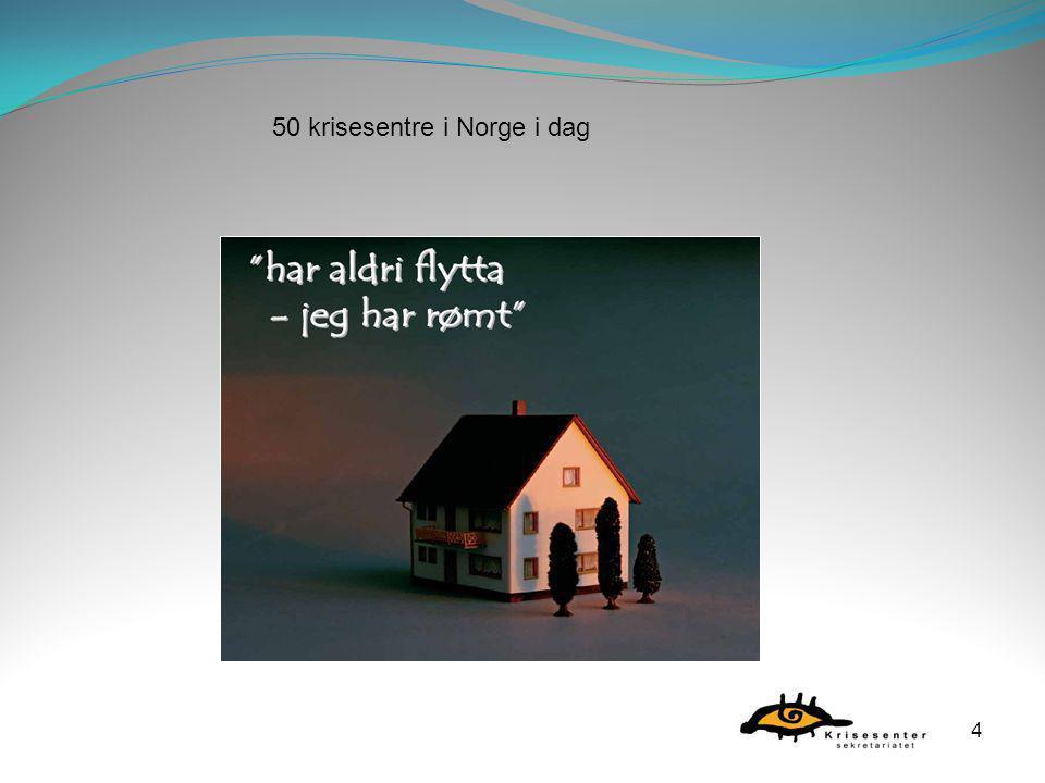 50 krisesentre i Norge i dag