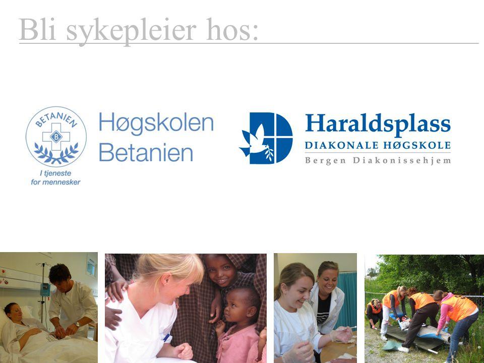 Bli sykepleier hos: www.haraldsplass.no