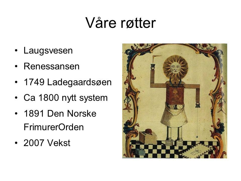 Våre røtter Laugsvesen Renessansen 1749 Ladegaardsøen