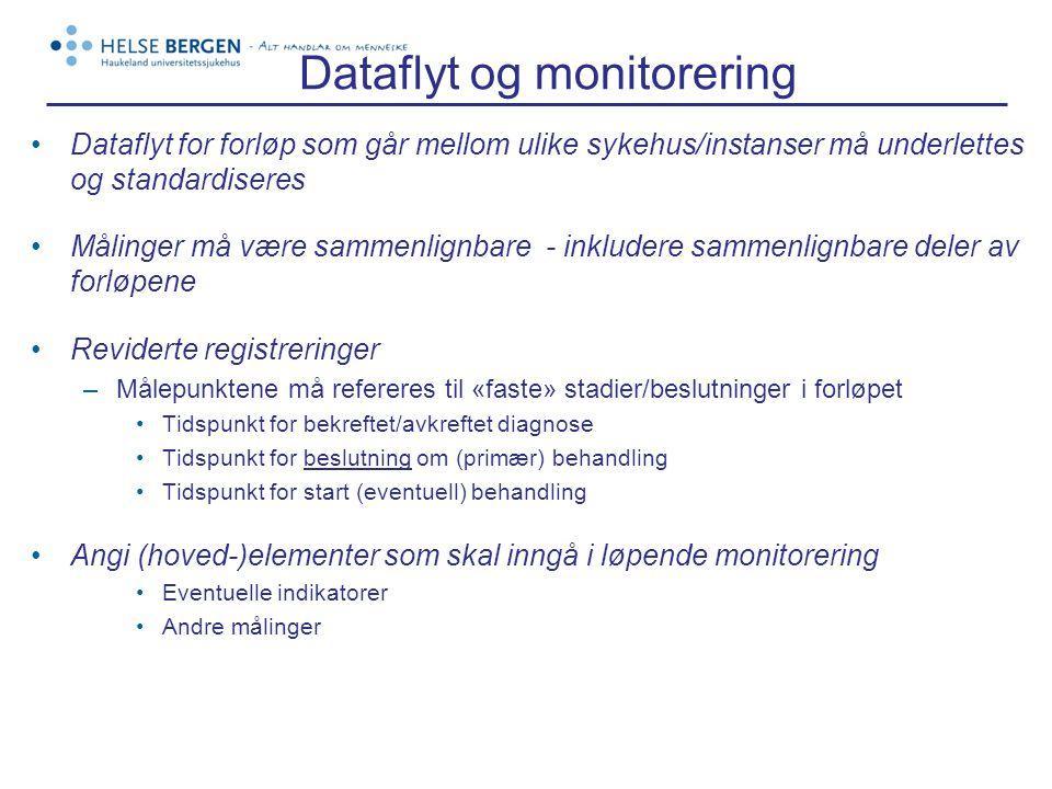 Dataflyt og monitorering