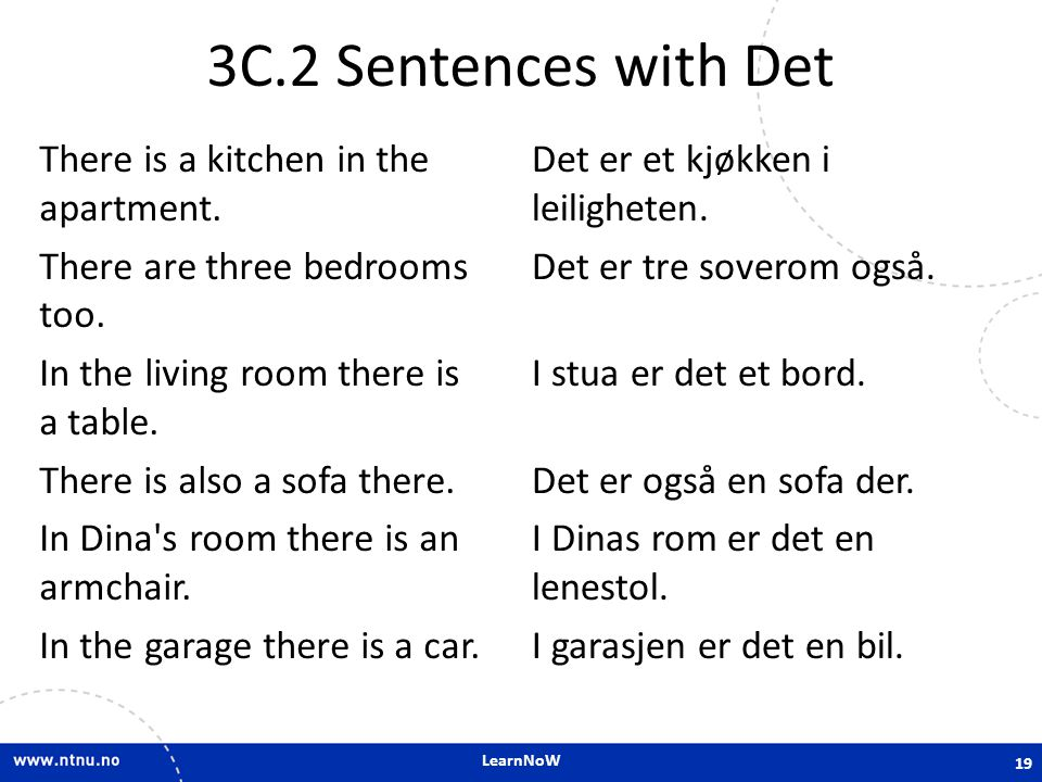 3C.2 Sentences with Det