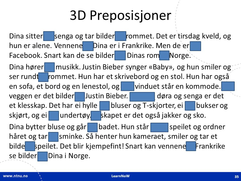 3D Preposisjoner