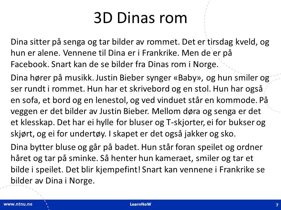 3D Dinas rom