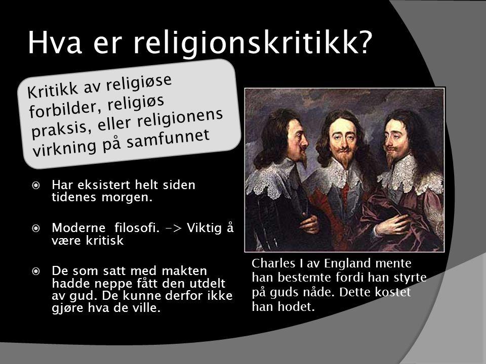 Hva er religionskritikk