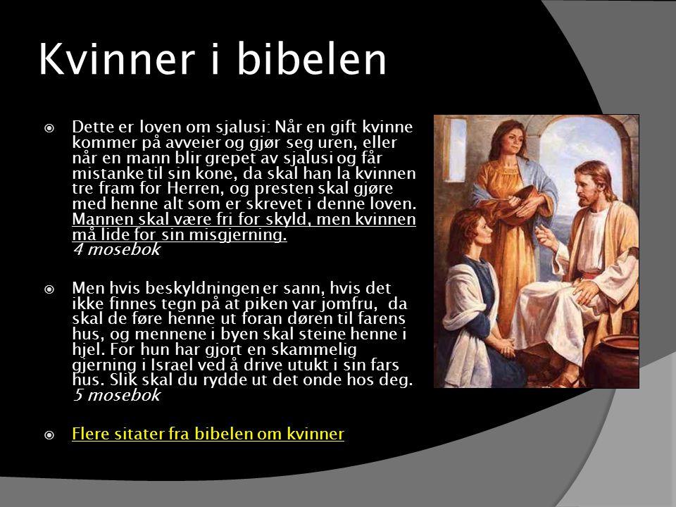 Kvinner i bibelen
