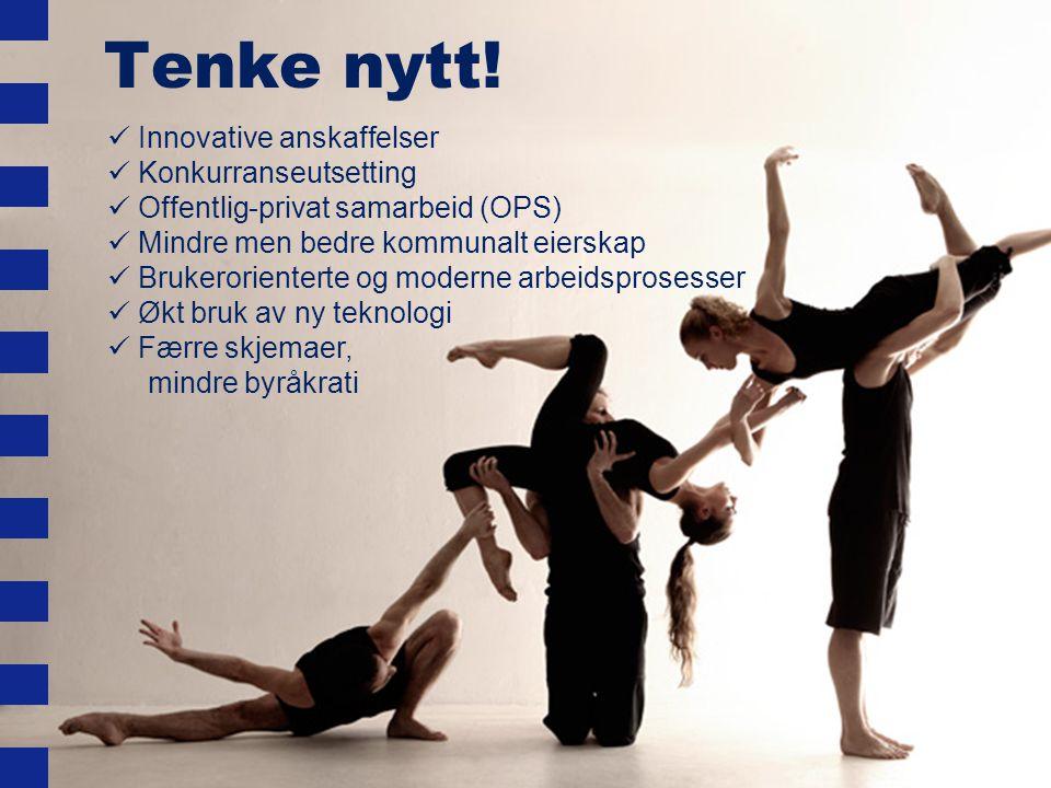 Tenke nytt! Innovative anskaffelser Konkurranseutsetting
