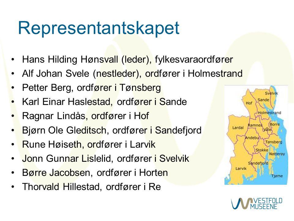 Representantskapet Hans Hilding Hønsvall (leder), fylkesvaraordfører