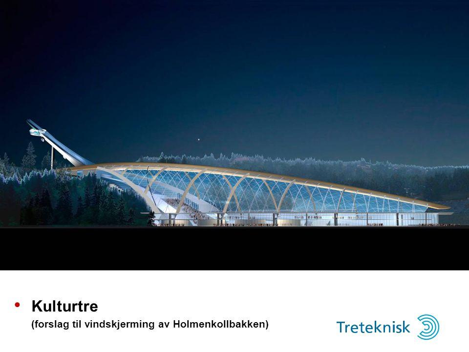 Kulturtre (forslag til vindskjerming av Holmenkollbakken)