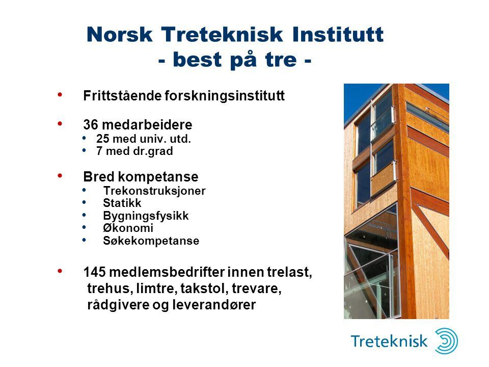Norsk Treteknisk Institutt - best på tre -
